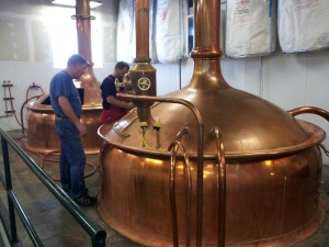 Prost Brewing Copper Kettles